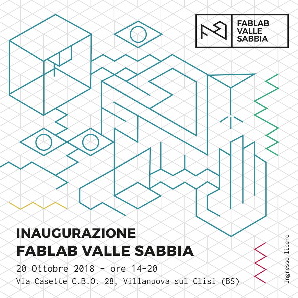 Inaugurazione Fablab Valle Sabbia post