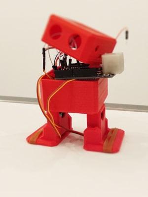 otto robot programmato con arduino