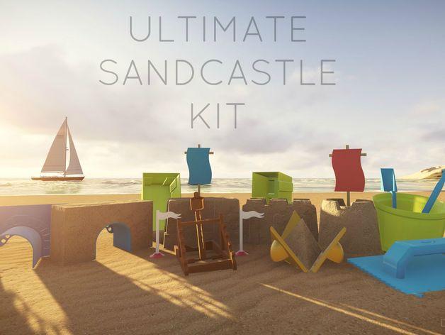 kit per castelli di sabbia per stampa 3d