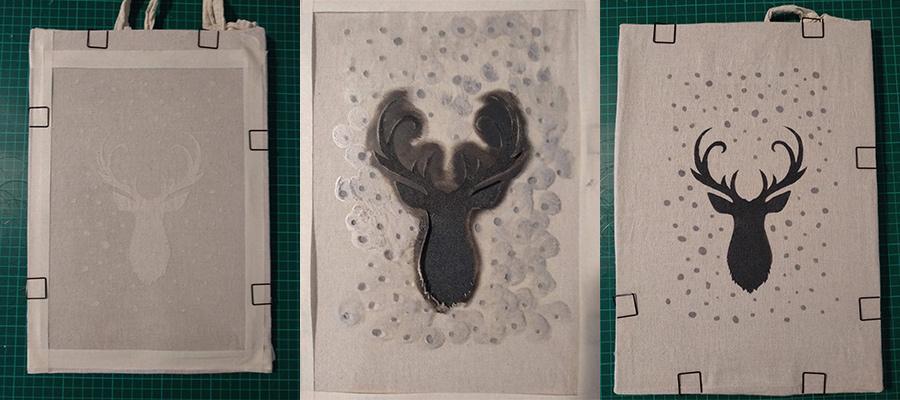 processo di creazione dello stencil