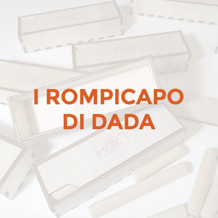 i rompicapo di dada - copertina della rubrica