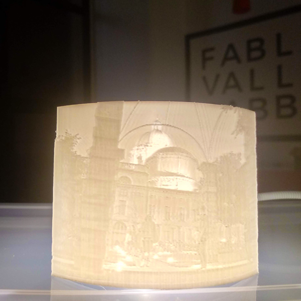 foto litografia in 3D