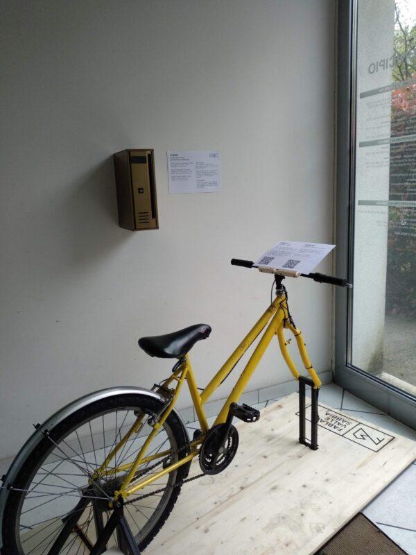 e_bike presso il municipio di Villanuova sul Clisi